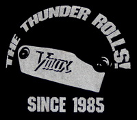 "T-Shirt schwarz ""Vmax - KING OF THE ROAD since 1985"""