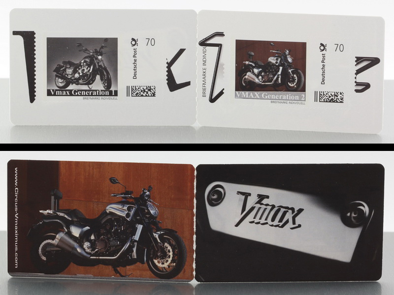 CIRCUS VMAXIMUS Vmax Limited Edition postage stamp set!