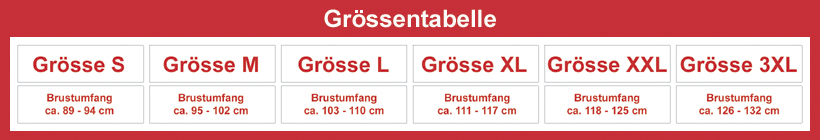 Groessentabelle Shirts